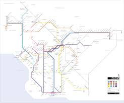 San Diego Public Transportation Map by Orange Line Brt To Pasadena The Transit Coalition