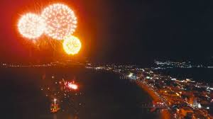 new year st new year s fireworks at boardwalk st maarten