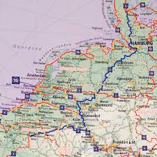 Darmstadt Germany Map by Eurovelo 1 3 The Complete Route U2013 Cyclingeurope Org