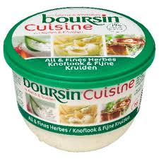 boursin cuisine light vershuys boter room margarine