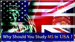 why should you study ms in usa