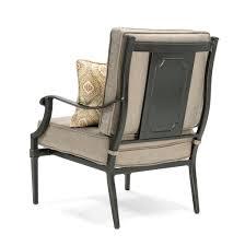 Patio Club Chairs Lila 6 Piece Patio Furniture Conversation Set Grey Aluminum