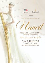 wedding dress designer jakarta international traditional wedding exhibition shangrilla hotel