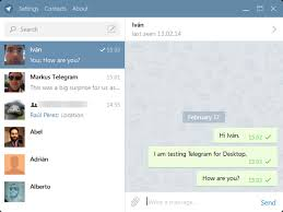 Telegram Web Telegram If You Don T Trust Us Use The Secret Chats