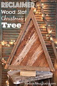 reclaimed wood tree wood slats