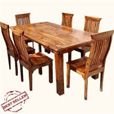 rustic solid wood dining table idaho modern rustic solid wood dining table chair set solid wood