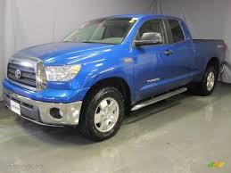 2007 toyota tundra 4x4 2007 blue streak metallic toyota tundra sr5 trd cab 4x4