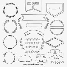 ornamental element collection vector free