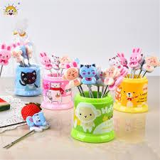 aliexpress com buy 8pcs box creative cartoon animal fruit forks