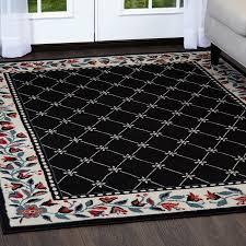 Tile Area Rug Trellis Moroccan Tile Area Rug Or Floral Lattice Modern Carpet