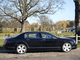bentley flying spur 2007 used bentley flying spur saloon black 6 0 saloon hampton court