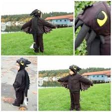 Toothless Dragon Halloween Costume Black Dragon Bambini Costume Costume Del Partito Ali Costume