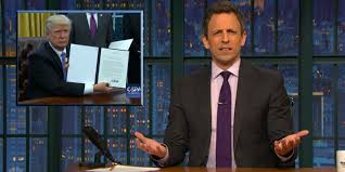 Trump House Inside Seth Meyers Trump U0027s Behavior Is Causing U0027concern U0027 Inside White