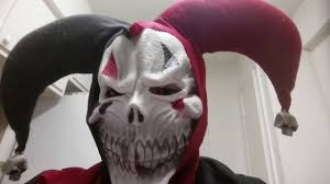 jester costume spirit halloween scaring my brother with evil jester clown costume youtube