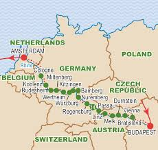 Passau Germany Map by Magnificent Europe September 2017 Craig Travel
