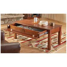 Hidden Compartment Coffee Table by Castlecreek Gun Concealment Coffee Table 671295 Living Room At