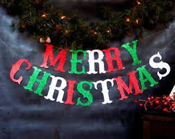 merry christmas banner christmas decorations merry christmas banner