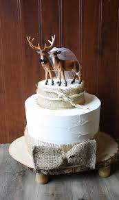 buck and doe cake topper wedding cake toppers deer deer wedding cake topper animal buck