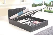 ottoman beds with mattress double ottoman bed with mattress ebay