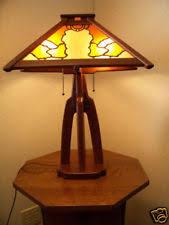Arts And Crafts Desk Lamp Arts U0026 Crafts Mission Style Antique Lamps Ebay