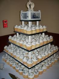 wedding cupcake tower black and white wedding cupcake tower cakecentral