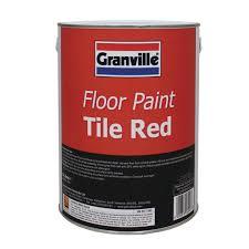 red floor paint granville floor paint 5 litre tile red we love your car