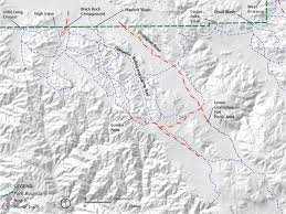 Black Rock Desert Map Horseback Riding Joshua Tree National Park U S National Park