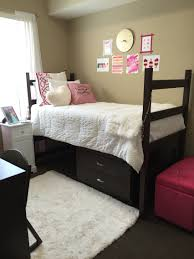 university of alabama dorm room in presidential 2 bama