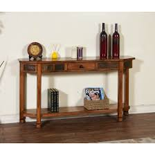 Sofa Table Rooms To Go by Sunny Designs 2224ro Sedona Entry Console In Rustic Oak