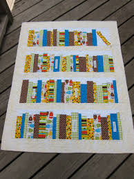 Bookshelf Quilt Pattern Bookshelf Baby Quilt U2013 Sewing Projects Burdastyle Com