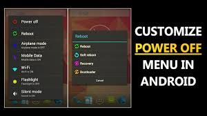 android menu how to customize android s power menu with more options