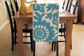 Diy Dining Chair Slipcovers Dining Room Chair Slipcovers Diy Diy Craft