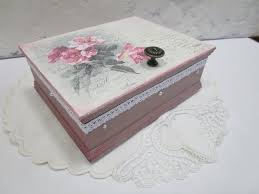 Decoupage Box Ideas - 3 ways to decoupage a box wikihow
