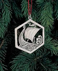 bestemorsimports pewter viking ornaments