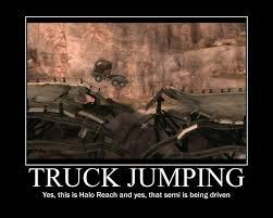 Halo Reach Memes - truck jumping by latenightbandicoot on deviantart