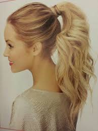 hairstyles step by step for medium length hair blonde short synthetic ponytail clip in pony tail hair extensions
