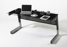 White Glass Desks by Glass Desk 150cm Wide In White Finish Office Sena Home Furniture