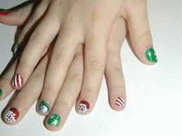 little christmas nail art gallery