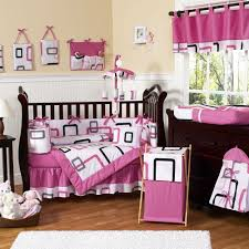 Brown And Pink Crib Bedding Baby Nursery Cool Baby Nursery Room Design Using Light Pink