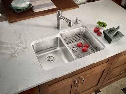 stainless steel double sink undermount gourmet double bowl w work shelf undermount sink jack london
