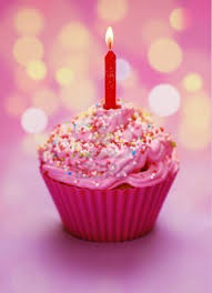 cupcake candles pink birthday cupcake with a candle s birthday