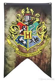 College Flag 75 125cm Harry Potter Gryffindor Hufflepuff Slytherin Ravenclaw
