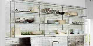 the pros and cons of open shelving