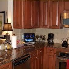 tv in kitchen ideas small tv for kitchen appliance cabinet tvs kitchen eidola