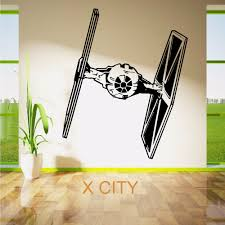 aliexpress com buy star wars tie fighter movie vinyl wall art aliexpress com buy star wars tie fighter movie vinyl wall art room sticker decal door window stencils mural decor s m l from reliable vinyl wall suppliers