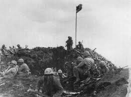 Soldier With Flag Star Spangled Mystery What Became Of Lost Iwo Jima Flag Raising