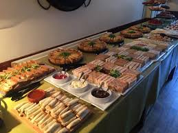 traditional buffet picture of tafarn y gader tapas bistro