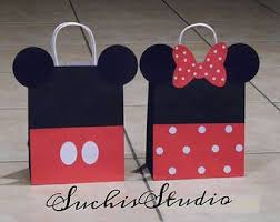 mickey mouse favor bags best 25 mickey mouse favors ideas on mickey mouse