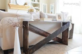 sofa table remodelaholic stylish and simple diy sofa table