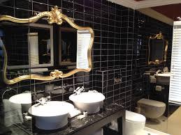 black bathrooms ideas gold and black bathroom caruba info